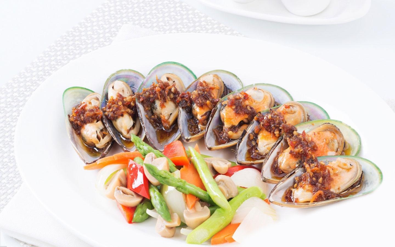 mussels xo sauce shingyang restaurant